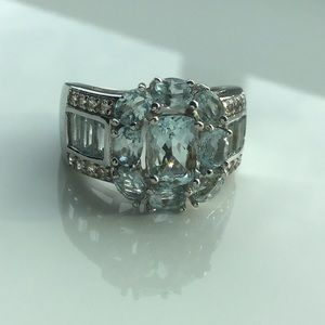 💙NEW! Elegant Aquamarine in Solid Tested SS!💙